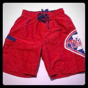 Boys Phillies swim shorts size 6